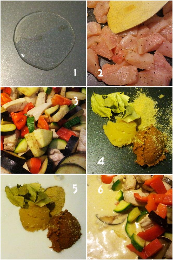 Thai-Curry Zubereitung