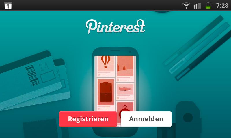 Pinterest für Android