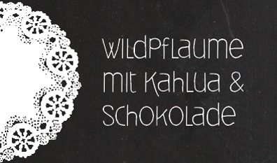 Wildpflaume-Label