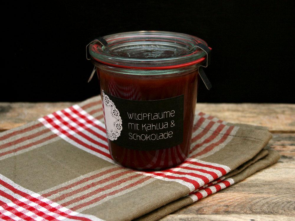Wildpflaumen-Marmelade