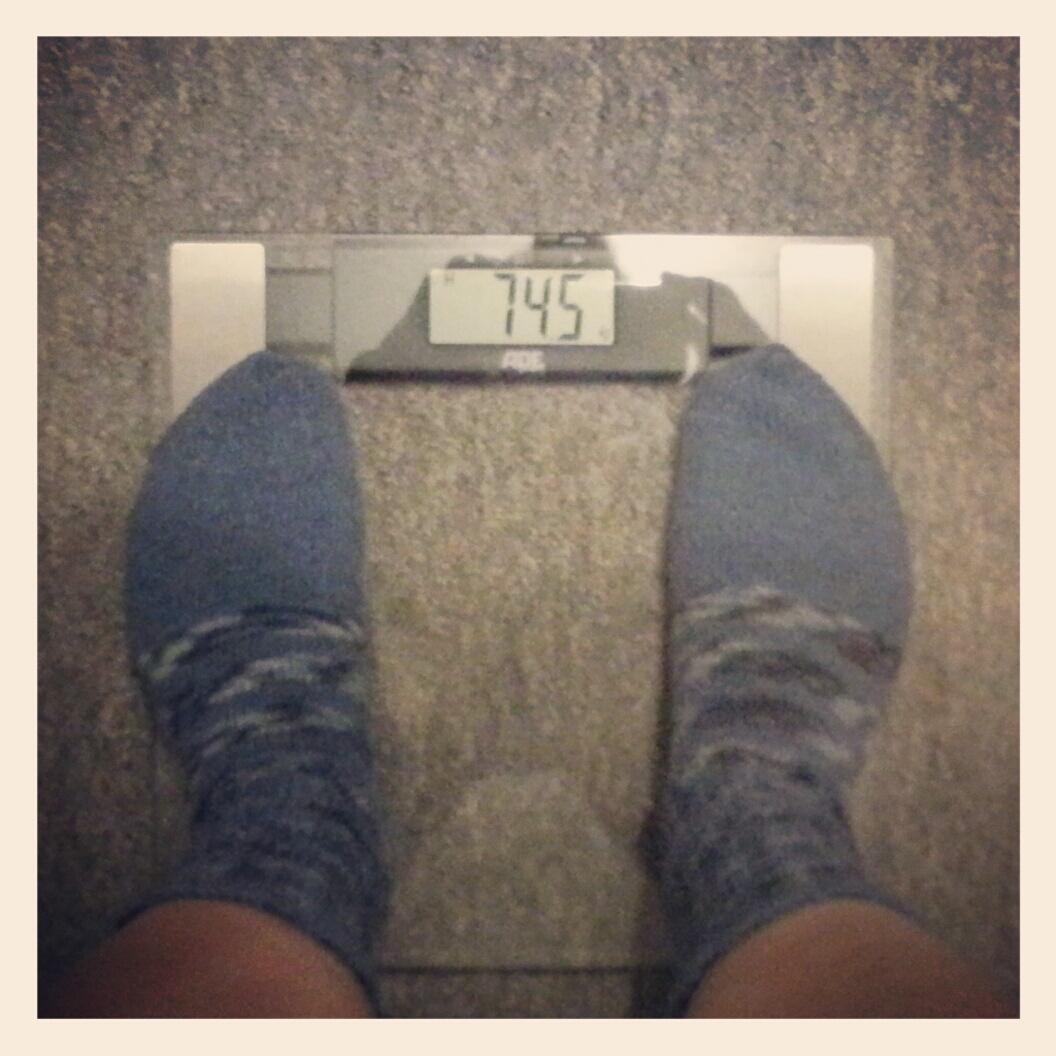 74,5 kg
